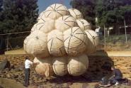 """Testiranje vazdušnih jastuka za """"Mars Pathfinder"""" proizvođača ILC Dover of Frederica."""